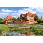 Puzzle 3000 pièces - Château de Malbork : Pologne