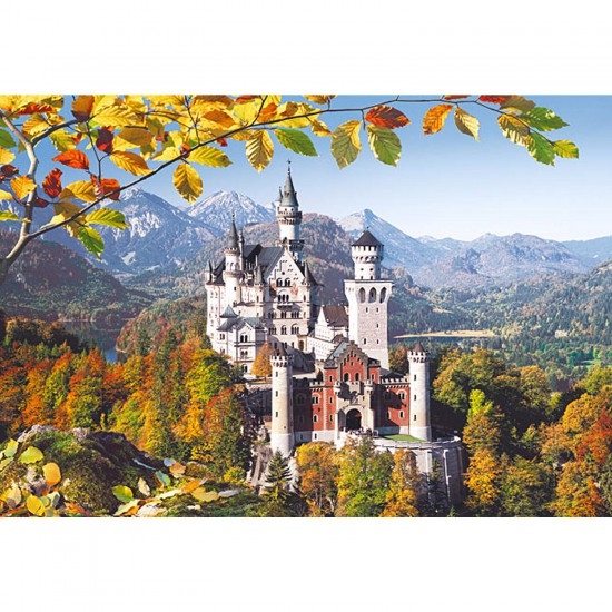Puzzle 3000 pièces - Château de Neuschwanstein - Castorland-300013