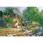 Puzzle 3000 pièces - Douglas R. Laird : Rose Lane House