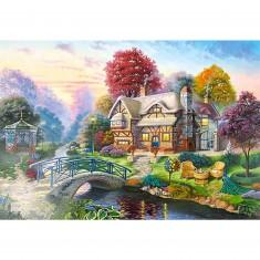 Puzzle 3000 pièces - Scène d'automne