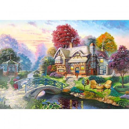 Puzzle 3000 pièces - Scène d'automne - Castorland-300181