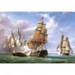 Puzzle 3000 pièces - Vessels : La bataille de Trafalgar