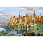 Puzzle 3000 pièces - Ville de Rothenburg