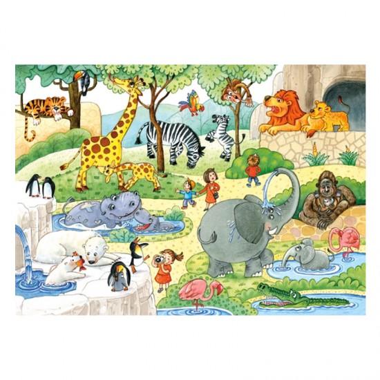 Puzzle 35 pièces : Au Zoo - Castorland-035083