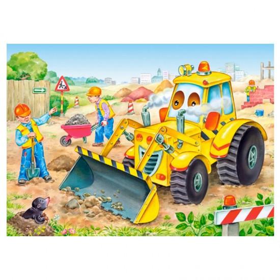 Puzzle 35 pièces : Bulldozer en action - Castorland-035168