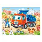 Puzzle 35 pièces : Camion Benne