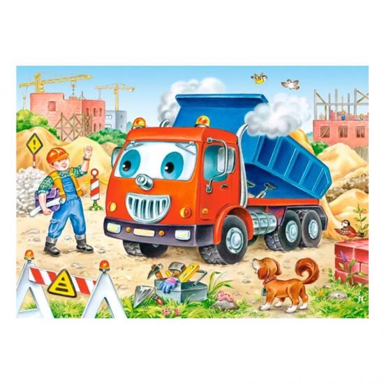 Puzzle 35 pièces : Camion Benne - Castorland-035144