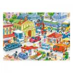 Puzzle 35 pièces : Centre-Ville