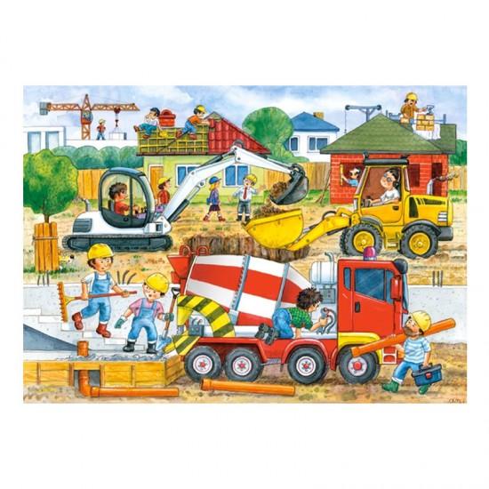 Puzzle 35 pièces : Chantier - Castorland-035069