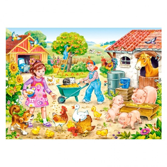Puzzle 35 pièces : Ferme - Castorland-035076