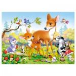 Puzzle 35 pièces : Petit Cerf