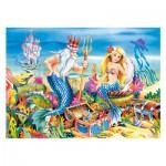 Puzzle 35 pièces : Petite Sirène