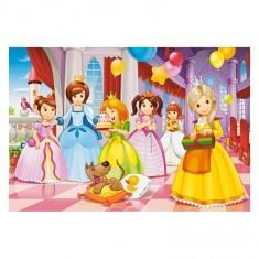 Puzzle 40 pièces : Fête de princesses