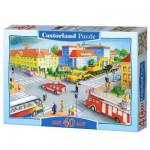 Puzzle 40 pièces maxi : Intersection