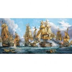 Puzzle 4000 pièces : Bataille navale