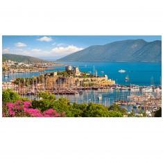 Puzzle 4000 pièces : Bodrum Marina, Riviera turque