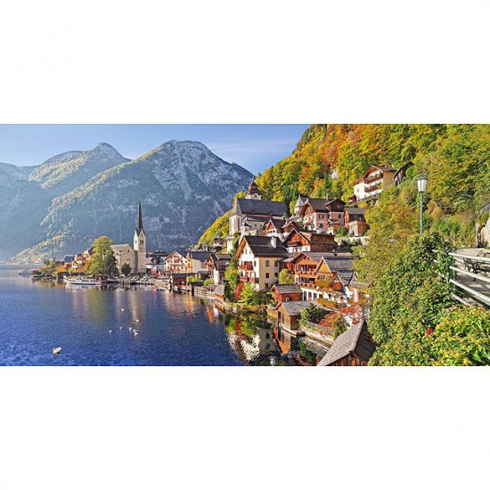 puzzle 4000 pi ces hallstatt autriche puzzle castorland rue des puzzles. Black Bedroom Furniture Sets. Home Design Ideas