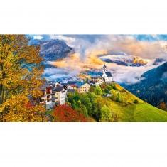 Puzzle 4000 pièces : Village de Santa Lucia, Italie