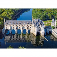 Puzzle 500 pièces : Château de Chenonceau
