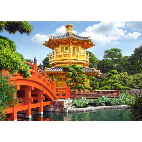 Puzzle 500 pièces : Joli paysage de Chine - Castorland-52172