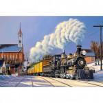 Puzzle 500 pièces : Train de Noël