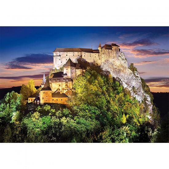 Puzzle 500 pièces - Château Orava, Slovaquie - Castorland-51489