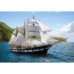 Puzzle 500 pièces - Croisière en voilier