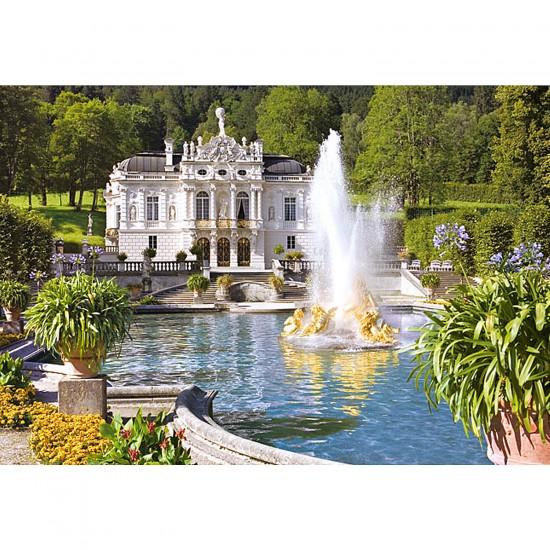 Puzzle 500 pièces - Linderhof Palace, Allemagne - Castorland-51069