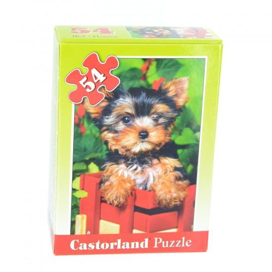 Puzzle 54 pièces : Mini puzzle : Bébé yorkshire - Castorland-08521Z-17