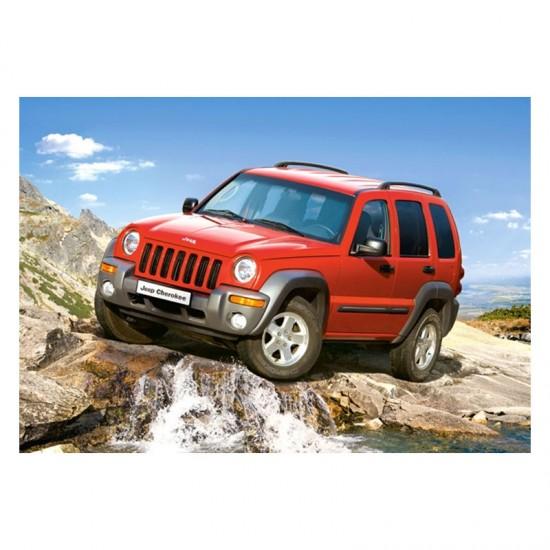 Puzzle 54 pièces : Mini puzzle : Jeep Cherokee - Castorland-08521M-6