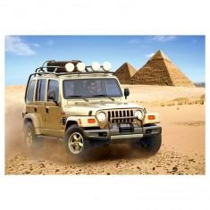 Puzzle 54 pièces : Mini puzzle : Jeep Dakar