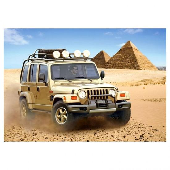 Puzzle 54 pièces : Mini puzzle : Jeep Dakar - Castorland-08521M-7