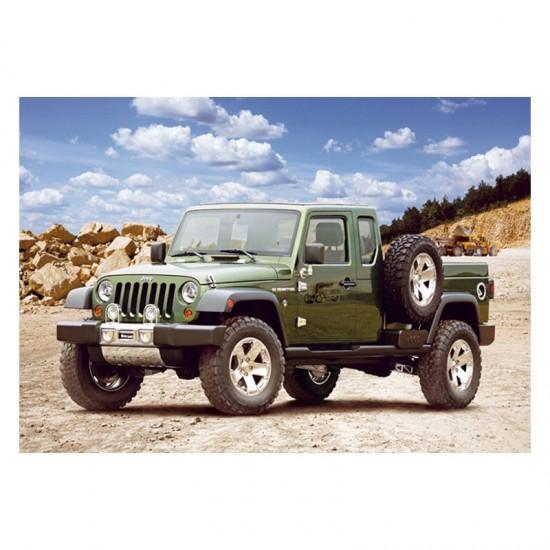 Puzzle 54 pièces : Mini puzzle : Jeep Gladiator - Castorland-08521M-1