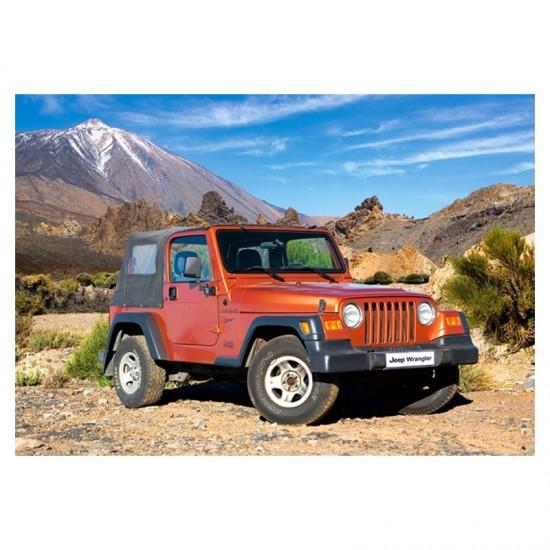 Puzzle 54 pièces : Mini puzzle : Jeep Wrangler - Castorland-08521M-4