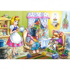 Puzzle 54 pièces - Mini puzzle : Alice au pays des merveilles