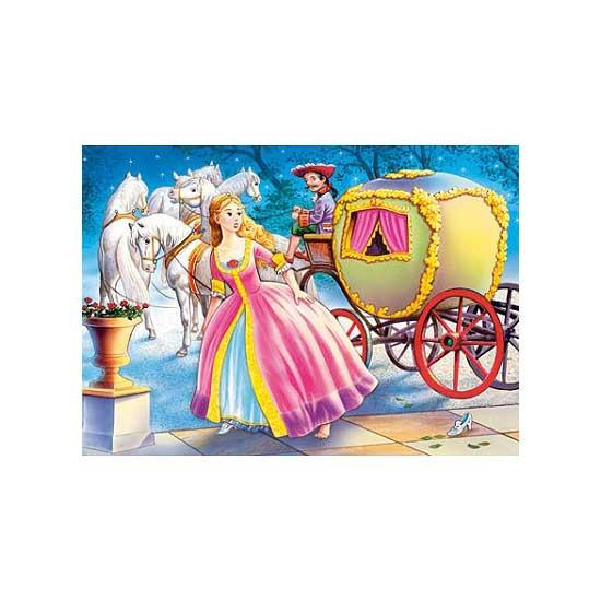 Puzzle 54 pièces - Mini puzzle : Cendrillon descend de son carrosse - Castorland-08521B-11