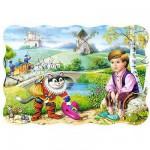 Puzzle 54 pièces - Mini puzzle : Le chat botté