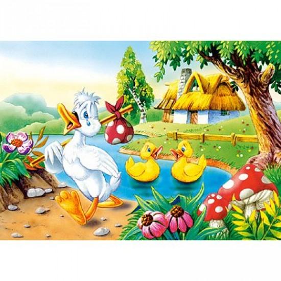 Puzzle 54 pièces - Mini puzzle : Le vilain petit canard - Castorland-08521B-9