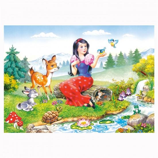 Puzzle 60 pièces : Blanche Neige - Castorland-06557