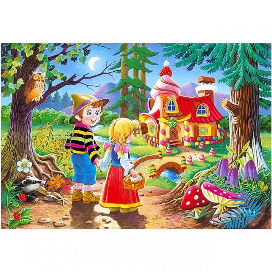 Puzzle 60 pièces : Hansel et Gretel - Castorland-06526