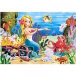Puzzle 60 pièces : La petite sirène