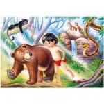 Puzzle 60 pièces : Le livre de la jungle