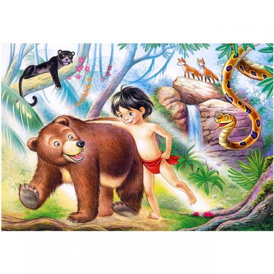 Puzzle 60 pièces : Le livre de la jungle - Castorland-06564