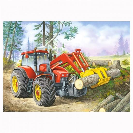 Puzzle 60 pièces : Nettoyage de la forêt - Castorland-06601