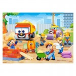 Puzzle 60 pièces : Site de construction rigolo