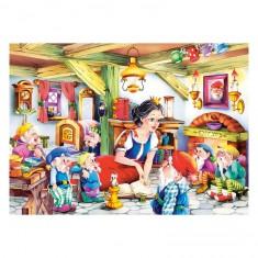 Puzzle 70 pièces : Blanche-Neige