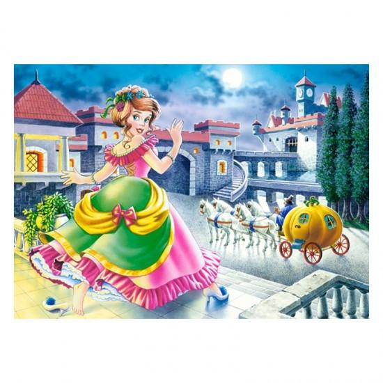 Puzzle 70 pièces : Cendrillon - Castorland-007028