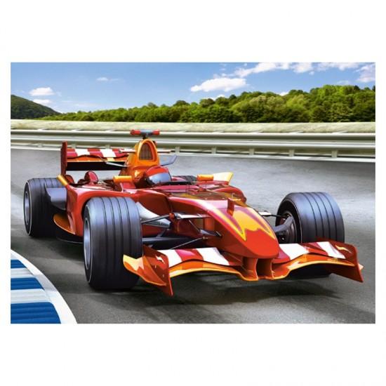 Puzzle 70 pièces : Voiture de course - Castorland-007080