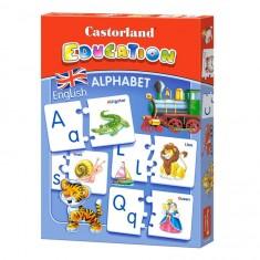 Puzzle éducatif : Alphabet Anglais