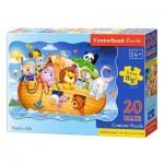 Puzzle Maxi 20 pièces : L'arche de Noé